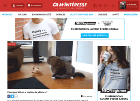 Caminteresse-news.fr thumbnail