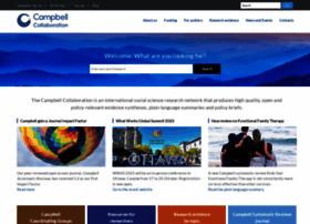 Campbellcollaboration.org thumbnail