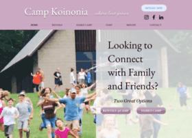 Campkoinoniany.org thumbnail