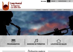 Campmusical-slsj.qc.ca thumbnail