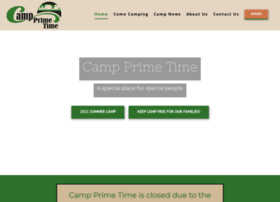 Campprimetime.org thumbnail