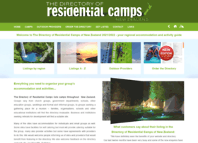 Camps-directory.co.nz thumbnail