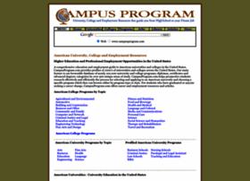Campusprogram.com thumbnail