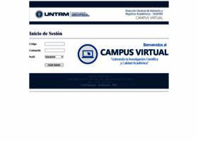 Campusvirtual.untrm.edu.pe thumbnail