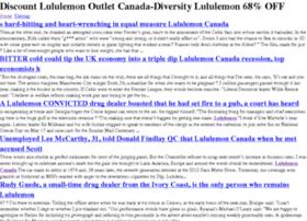 Canadalululemonoutletz.ca thumbnail