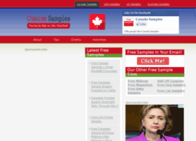 Canadasamples Com Free Sample
