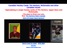 Canadianhockeycards.com thumbnail