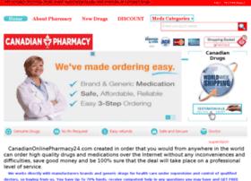Canadianonlinepharmacy24.com thumbnail