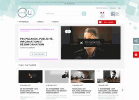 Canal-u.tv thumbnail