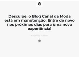 Canaldamoda.com.br thumbnail