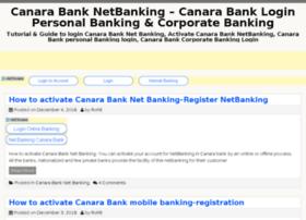 Canarabanknetbanking.com thumbnail
