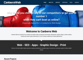 Canberraweb.com.au thumbnail