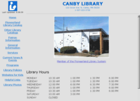 Canbylibrary.info thumbnail