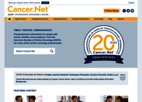 Cancer.net thumbnail