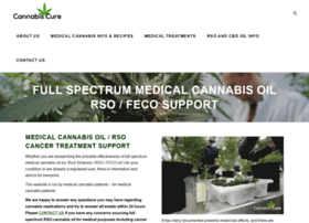 Cannabiscure.info thumbnail