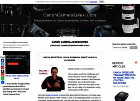 Canoncamerageek.com thumbnail
