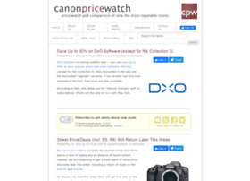 Canonpricewatch.com thumbnail
