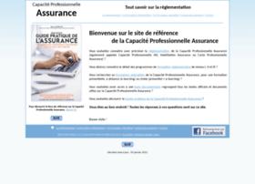 Capacite-professionnelle-assurance.fr thumbnail
