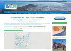 Capetowngreenmap.co.za thumbnail