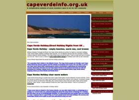 Capeverdeinfo.org.uk thumbnail