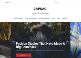 Capsaq.net thumbnail