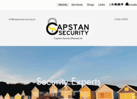 Capstansecurity.org.uk thumbnail