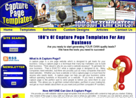 Capturepagetemplates.com thumbnail