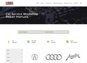Car-service-manuals.com thumbnail