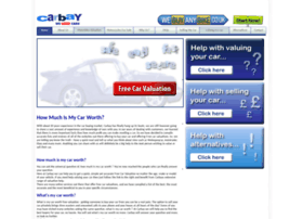 Carbay Co Uk At Wi How Much Is My Car Worth Free Car Valuation