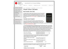 Carbon-calculator.org.uk thumbnail