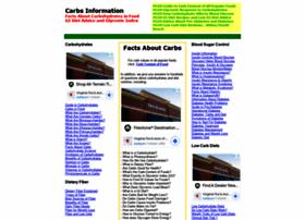 Carbs-information.com thumbnail