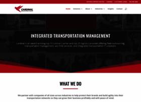 cardlog.com at WI. Home - Cardinal Logistics