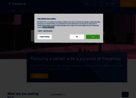 Career.fresenius.com thumbnail