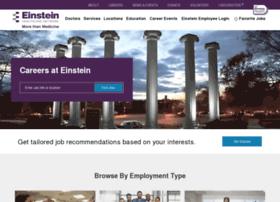 Careers.einstein.edu thumbnail