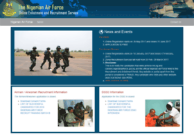 Careers.nigerianairforce.gov.ng thumbnail