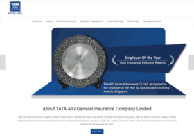 Careers.tataaiginsurance.in thumbnail