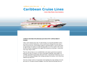 Caribbean-cruise-lines.com thumbnail