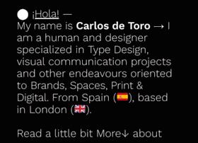 Carlosdetoro.com thumbnail