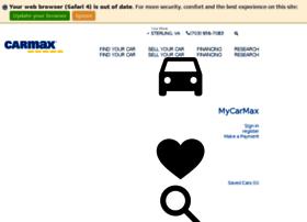 carmaxautofinance.com at WI. CarMax Auto Finance   CarMax