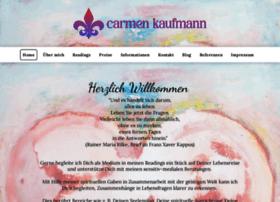 Carmenkaufmann.de thumbnail
