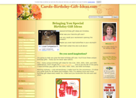 Carols-birthday-gift-ideas.com thumbnail
