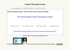 Carpetcleaningcounty.com thumbnail