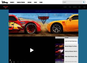 Cars.disney.com thumbnail