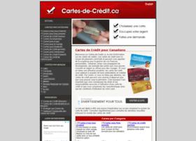 Cartes-de-credit.ca thumbnail