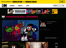 Cartoonnetwork.com thumbnail