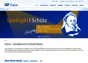 Carus-verlag.com thumbnail