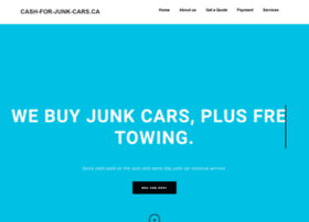 Cash-for-junk-cars.ca thumbnail