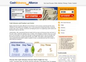 Cashadvancealliance.com thumbnail