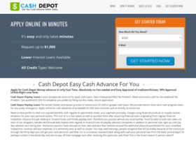 Cashdepotadvance.net thumbnail
