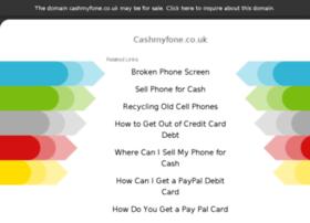 Cashmyfone.co.uk thumbnail